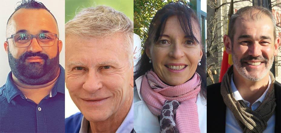 Les voeux aux tretsois pour la nouvelle année des candidats aux Municipales 2020