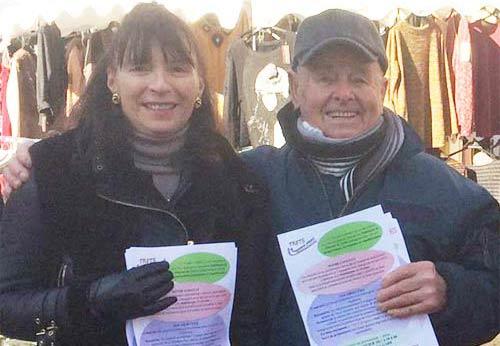 François Coquillat appelle à voter pour Stéphanie Fayolle aux Municipales