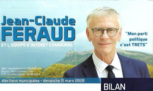 Jean-Claude Feraud dresse le bilan de ses 12années de mandat !