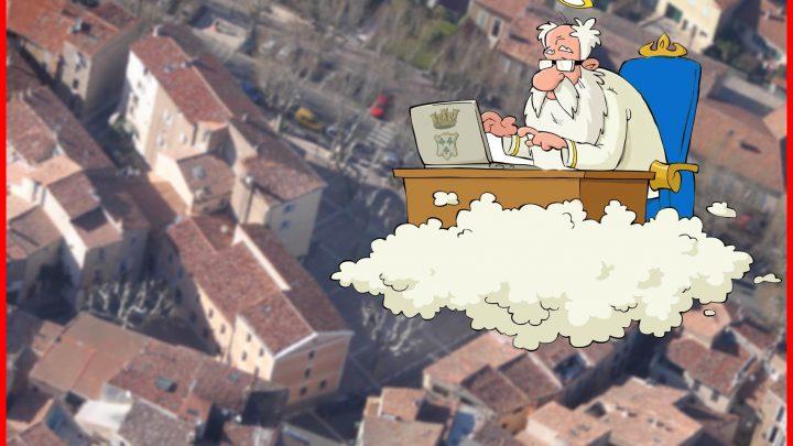 Les aventures humoristiques de DIEU candidat aux Municipales de Trets [Chapitre VI & FIN : Dieu et son discours final]