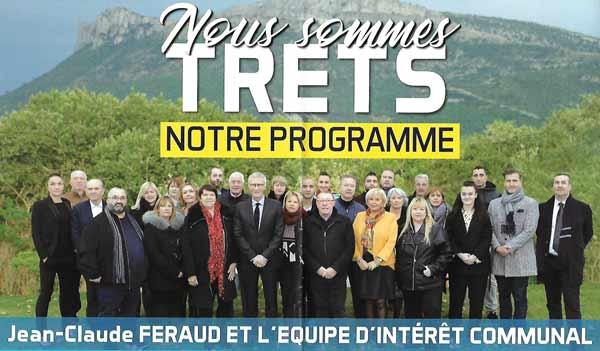 Programme électoral de Jean-Claude Feraud pour les Municipales 2020