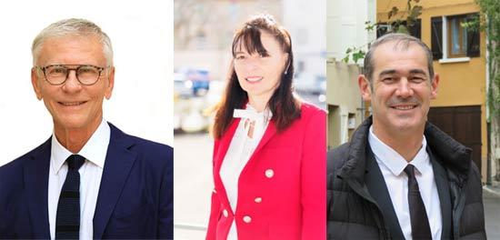 Les affiches électorales des candidats tretsois pour les Municipales 2020