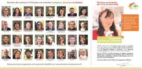 Programme électoral & liste de Stéphanie Fayolle pour les Municipales 2020