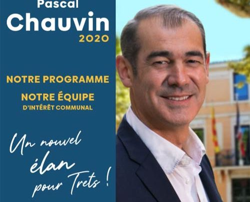 La brochure : Programme électoral & liste de Pascal Chauvin pour les Municipales 2020