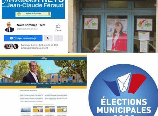 Une campagne en face à face ou par écrans interposés entre Tretsois et candidats…
