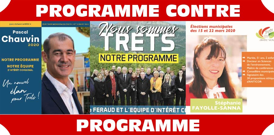 Fayolle / Chauvin / Feraud : Programme contre Programme : Le comparatif