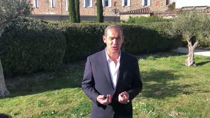 Pascal Chauvin achève sa campagne dans un discours vidéo où il rappelle ses ambitions pour Trets
