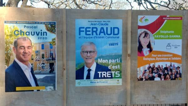 Une campagne toujours à l'arrêt sauf en mode collage, alors que le maire sollicite ses adversaires…