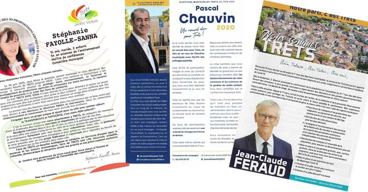 Les Professions de foi des candidats pour le 2nd Tour des Municipales 2020